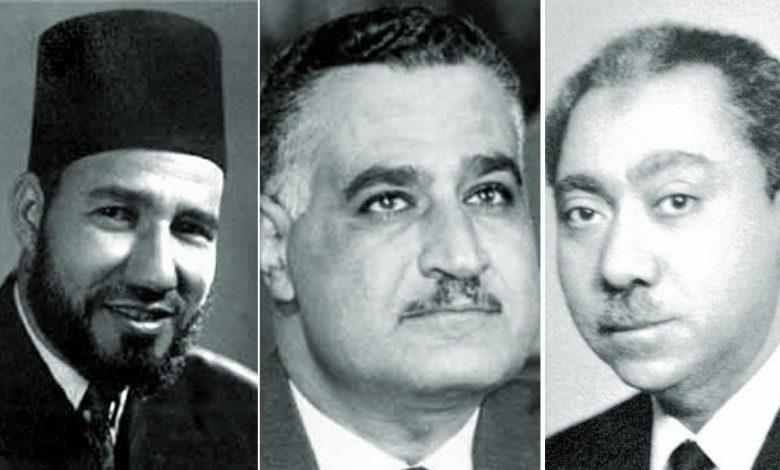 جمال-عبد-الناصر-سيد-قطب-حسن-البنا