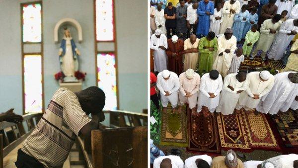مسلمانان و مسیحیان