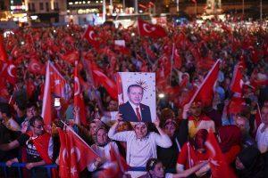 محبوبیت اردوغان
