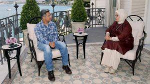 عامر خان و امینه اردوغان