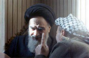 یاسر عرفات و امام خمینی