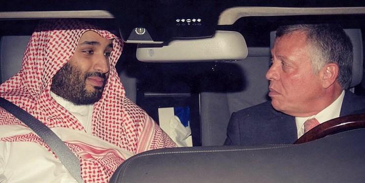 بن سلمان و پادشاه اردن