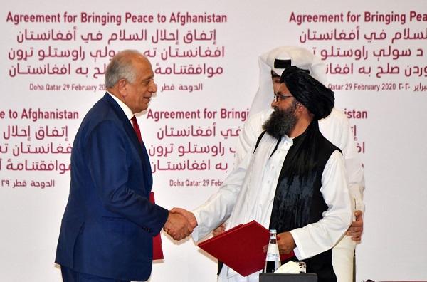 طالبان و آمریکا