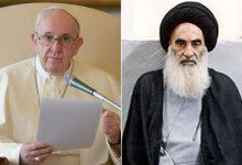 Photo of به بهانه دیدار پاپ با آیتالله سیستانی؛ باید پروژههای مشترک بینالادیانی تعریف کرد